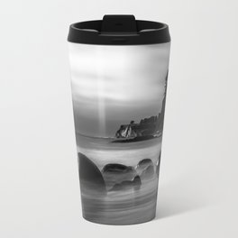 Just Another Beach Bowling Ball Beach hig tide Travel Mug