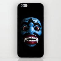 bali iPhone & iPod Skins featuring Bali mask by VanessaGF