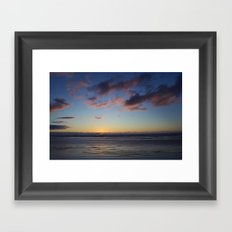 Falling Light Framed Art Print