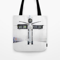 blizzard in Paris Tote Bag