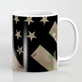 U.S. Flag: Military Camouflage Coffee Mug