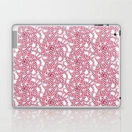 Candy cane flower pattern 7 Laptop & iPad Skin