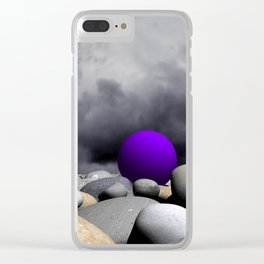 lost somewhere -1- Clear iPhone Case