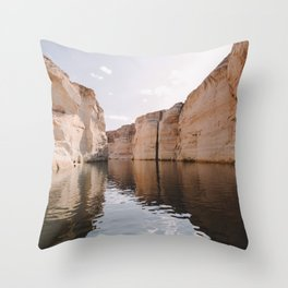 Cracking Throw Pillow