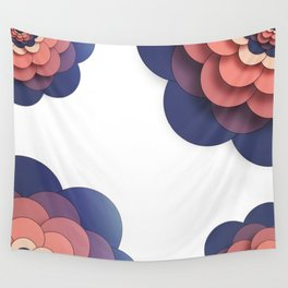 Floral // Border Wall Tapestry