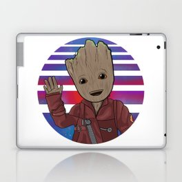 The Innocent Guardian of the Galaxy Laptop & iPad Skin