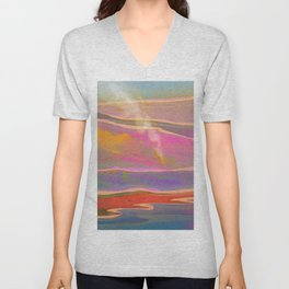 Adventure in the Volcanic Lands - Fumarole Unisex V-Neck