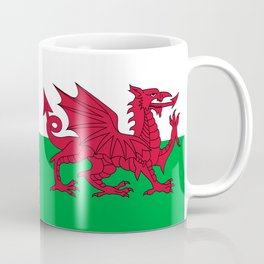 National flag of Wales - Authentic version Coffee Mug