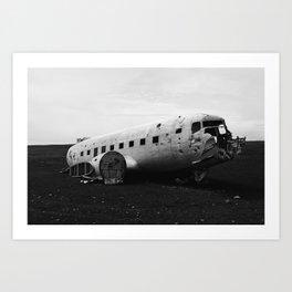 DC-3 Wreck II Art Print