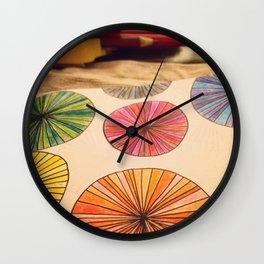 Pencil Me In Wall Clock