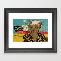This is Bat Country Framed Art Print