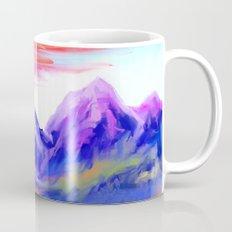 Sunset at valley Mug