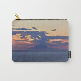 Mount Athos at Sunset Carry-All Pouch