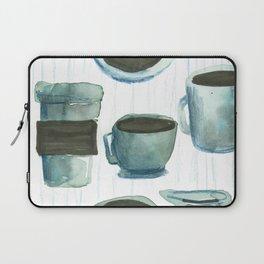 coffees watercolor Laptop Sleeve