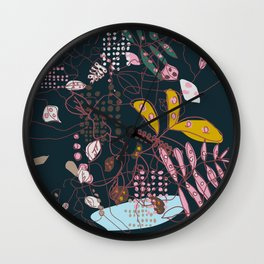 complex and diffuse matter Wall Clock