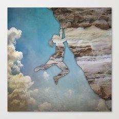 Climb On II Canvas Print