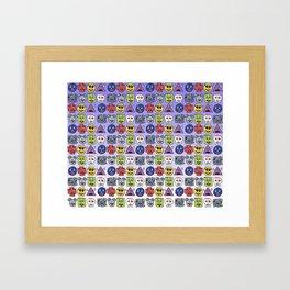 Snood Lovers Framed Art Print