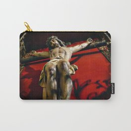 Jesus hanging on the cross Carry-All Pouch