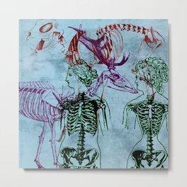 Our Young Bones Metal Print