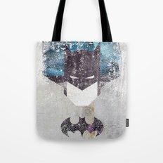 Bat grunge superhero Tote Bag