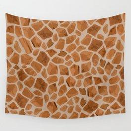 Giraffe Print Wall Tapestry