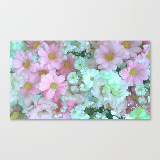 Flower Sorbet Canvas Print