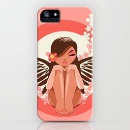 Flora Fairy iPhone Case