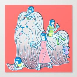 Giant Shih Tzu Canvas Print