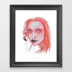 Metamorphosis-flamingo Framed Art Print