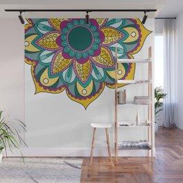 Mandala Series - Sunflower Wall Mural
