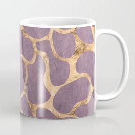 Gold and Purple Coffee Mug