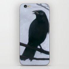 La corneille iPhone & iPod Skin