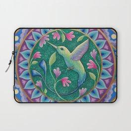 Hummingbird Mandala Laptop Sleeve