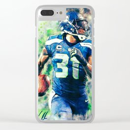 Kam Chancellor Clear iPhone Case