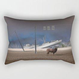atmosphere · stupidity Rectangular Pillow