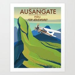 Ausangate Peru.  Into Adventure! Art Print