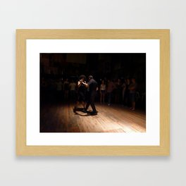 Tango at La Catedral, Buenos Aires Framed Art Print