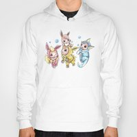 projectrocket Hoodies featuring Bursting Bubbles by Randy C