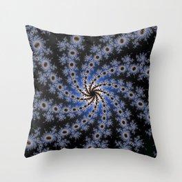 Fractal Pinwheel 2 Throw Pillow