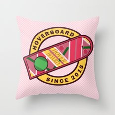 Hoverboard - Back to the future Throw Pillow