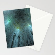 Glow turquoise Stationery Cards