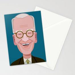 Comics of Comedy: David Letterman Stationery Cards