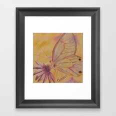 Little mirror butterfly | Petit Miroir papillon Framed Art Print