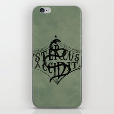 Stercus Accidit - S*** Happens iPhone & iPod Skin
