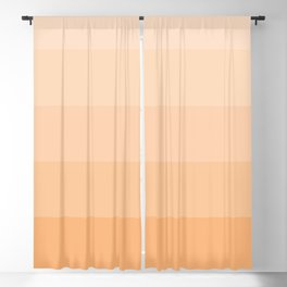 Soft Pastel Peach Hues - Color Therapy Blackout Curtain