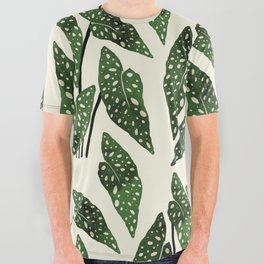 begonia maculata interior plant All Over Graphic Tee