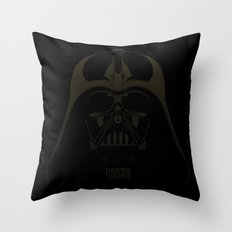 Dark Darth  Throw Pillow