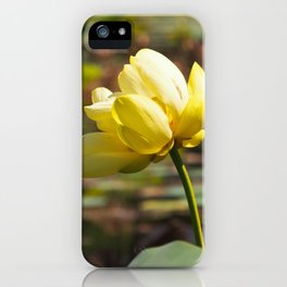 Lone Lotus iPhone Case