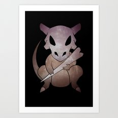 Cute Bone Art Print