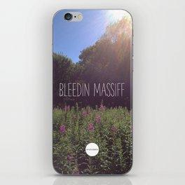 Bleedin Massiff iPhone Skin